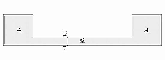 一般的なGL工法の壁