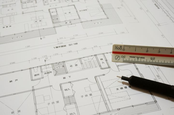 設計図のイメージ