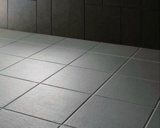 床タイルの施工例