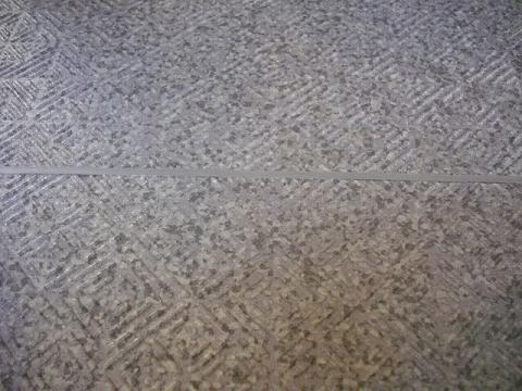 床塩ビシートのジョイント例