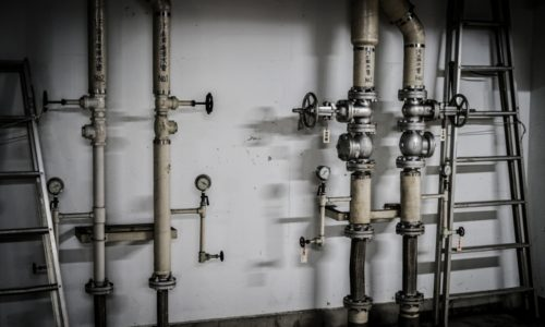 建物内に必要な配管はたくさんある